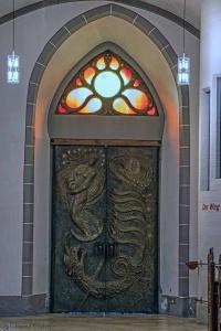 Werke von Ernst Alt: Portal der Pfarrkirche St. Laurentius, Ahrweiler