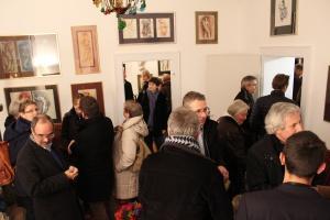 Gedankfeier anläßlich des 80. Geburtstags von Ernst Alt im Ernst-Alt-Kunstforum am 24.1.2015