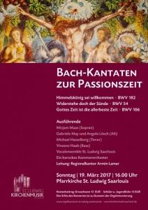 """Plakat mit mit Ernst Alts Altarbild """"Sacra conversazione"""" (1975)"""