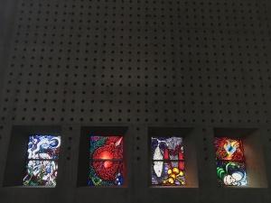 Fensterzyklus Ernst Alts in St. Ludwig Saarlouis