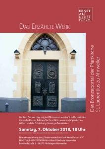 """""""Das Erzählte Werk"""" @ Ernst-Alt-Kunstforum"""