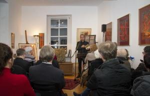 """""""Das Erzählte Werk"""" am 4. Februar mit Dr. Thomas Albrecht"""